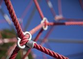 Rope On A Child Climbing Frame