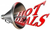 Hot Deals Red Word In Megaphone