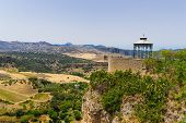 Viewing Point In Ronda
