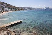 Agios Stefanos Beach, Mykonos,
