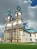 The Abbey Church In Krzeszow In Lower Silesia In Poland