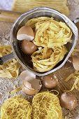 Постер, плакат: Итальянская кухня яйцо макароны