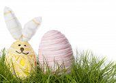 Happy Easter Bunny Egg