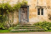 Old Houses In Cotswold District Of England