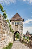 Neckarhaldentor In Esslingen Am Neckar, Germany