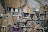 pic of tabriz  - Unusual famous village Kandovan in northern Iran