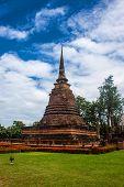 Wat Sa Si temple ruin