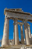 pic of parthenon  - Parthenon temple in Acropolis at Athens - JPG