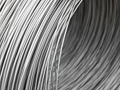 Full Frame of Steel Wire