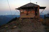 Burley Mountain Fire Lookout, Washington state