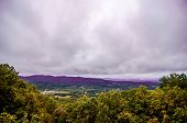 Mountain Landscapes In Virginia State Around Roanoke