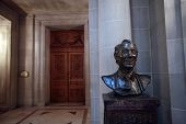 Harvey Milk bust, San Francisco City Hall