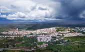 Overview Of Castelo De Vide