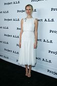 NEW YORK- OCT 17: Actress Mickey Sumner attends the Project A.L.S. 15th Anniversary benefit at Rosel
