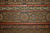 Moorish ceiling