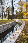 Water Canal In Autumn