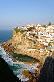 Azenhas Do Mar, A Beautiful Town In The Municipality Of Sintra, Portugal.