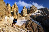 Passo Delle Farangole - Pale Di San Martino - Dolomiti - Italy