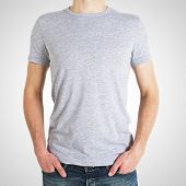 Boy In Gray T-shirt