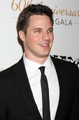 LOS ANGELES - MAR 29:  Matt Lanter at the Humane Society Of The United States 60th Anniversary Gala at Beverly Hilton Hotel on March 29, 2014 in Beverly Hills, CA