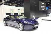 Nonthaburi - March 25:aston Martin Rapide S Car On Display At The 35Th Bangkok International Motor S