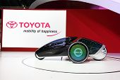 Nonthaburi - March 25: Toyota Fv2 Car On Display At The 35Th Bangkok International Motor Show On Mar