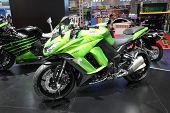 Bangkok - March 25 : Kawasaki Ninja 1000 Motorcycle On Display At The 35Th Bangkok International Mot