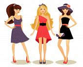 fashion spring girls