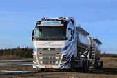 Volvo FH16 Tanker Truck Landscape