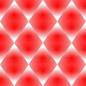 Design Seamless Colorful Rhombus Pattern