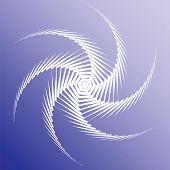 Design Colorful Twirl Movement Background
