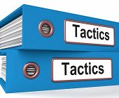 Tactics Folders Show Organisation And Strategic Methods
