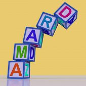 Drama Blocks Show Acting Play Or Theatre
