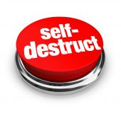 Self-destruct - Red Button