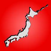 Japan island
