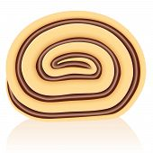 Swiss Roll Chocolate