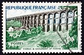 Postage Stamp France 1960 Chaumont Viaduct