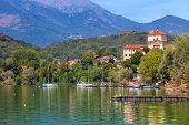 picture of lagos  - View of Lake Avigliana  - JPG