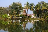 View Of One Of The Temples In Sukhothai