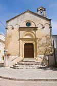 Church of Madonna delle Grazie. Montescaglioso. Basilicata.