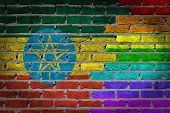 Dark Brick Wall - Lgbt Rights - Ethiopia