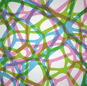 Vector Abstract Colorful And Complicated Background Pattern