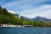 St. Martin Church In Bled