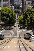 Up and down the street of San Francisco