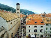 The Croatian City Of Dubrovnik