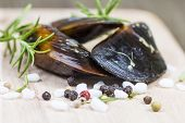 Spicy Raw Mussels