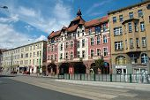 New Theater On Dabrowskiego Street In Poznan, Poland