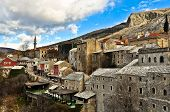 Mostar Old Town Architecture