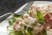 Mayonnaise Seafood Salad