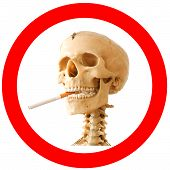 Smoking kills sign
